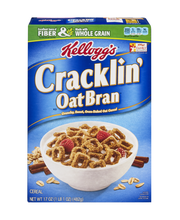 Kellogg's® Cracklin' Oat Bran® Cereal 17 oz. Box