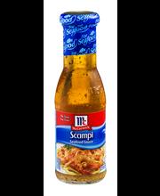 McCormick® Golden Dipt® Scampi Seafood Sauce, 7.5 oz. Bottle