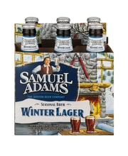 Samuel Adams Beer Seasonal Brew Winter Lager Bottles - 6 CT
