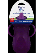 TIPPY TOES SIPPY CUP INSLT 9OZ