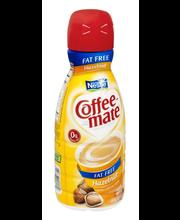 Nestle Coffeemate Fat Free Hazelnut Liquid Coffee Creamer 32 ...