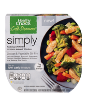 Healthy Choice® Cafe Steamers® Chicken & Vegetable Stir Fry 9...