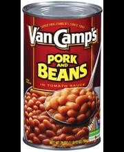Van Camp's  Pork & Beans 28 Oz Can