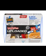 Lunchables Uploaded 6-inch Turkey & Ham Sub Sandwich 5.5 oz. ...