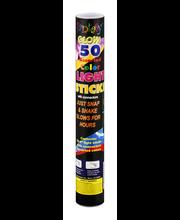 Fantasy Glow Light Sticks Assorted Colors - 50 CT