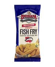 Louisiana Seasoned Crispy Fish Fry Seafood Breading Mix