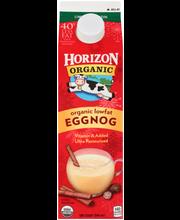 Horizon Organic® Organic Lowfat Eggnog 1 qt. Carton
