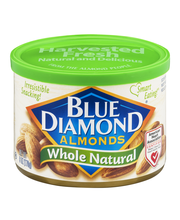 Blue Diamond® Whole Natural Almonds 6 oz. Canister