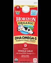 Horizon Organic® Vitamin D DHA Omega-3 Organic Whole Milk .5 ...