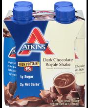 Atkins™ Dark Chocolate Royale Shakes 4-11 fl. oz. Aseptic Car...