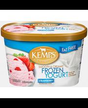 Kemps® Smooth & Creamy Fat Free Strawberry Frozen Yogurt 1.5 ...