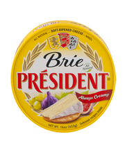 President Brie Soft-Ripened Cheese Wheel