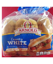 Brownberry Select Rolls Hot Dog - 8 CT
