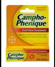 Campho-Phenique® Maximum Strength Cold Sore Treatment Gel .23...