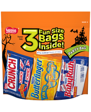 NESTLE Big Bag of 3 Halloween Fun Size Bags 34 oz