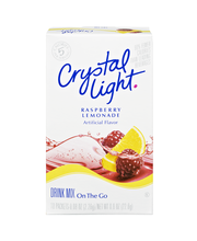 Crystal Light On-the-Go Raspberry Lemonade Drink Mix 10 ct Box