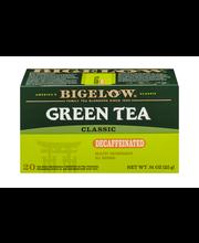 Bigelow® Green Tea Classic Decaffeinated Tea Bags .91 oz. Box