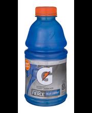 Gatorade Fierce Blue Cherry Thirst Quencher 32 Fluid Ounce Bo...