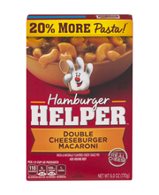 Betty Crocker™ Double Cheeseburger Macaroni Hamburger Helper™...