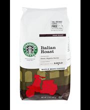 Starbucks® Italian Roast Dark Whole Bean Coffee 12 oz. Bag
