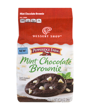 Pepperidge Farm Soft Dessert Cookies Mint Chocolate Brownie