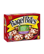 Bagel Bites® Cheese & Pepperoni Pizza Snacks 40 ct Box