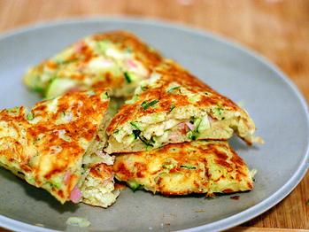 Zucchini Ham And Ricotta Fritters Recipe From Smitten Kitchen On
