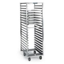 Stainless Steel Narrow Roll In Cooler Opening Sheet Pan and Tray Rack