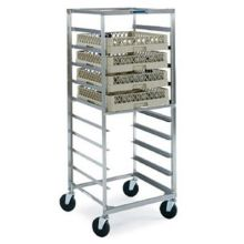 Stainless Steel Mobile Glass and Cup Rack