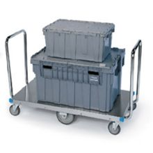 Stainless Steel Non Powered Dual Handle Platform Truck