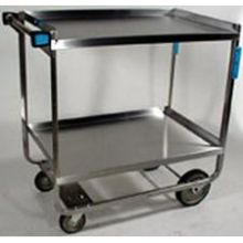 Stainless Steel Heavy Duty NSF Traditional 2 Shelves Utility Cart