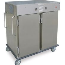 Stainless Steel Dual Temperature Chilled Chilled Compartment Transport Cart