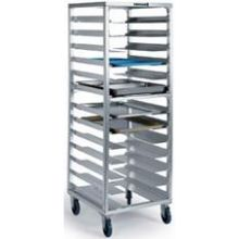 Aluminum Universal Stepped Angle Ledge Roll In Cooler Rack