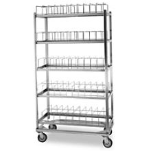 Stainless Steel Dome Drying Rack for 60 Dome Capacity