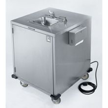 Mobile Stainless Steel Hand Washing Station