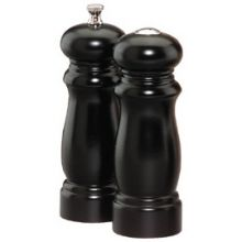 Salem Ebony Finish Pepper Mill and Salt Shaker