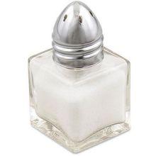 Square Glass Mini Salt and Pepper Shaker