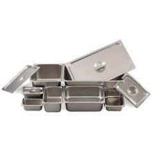 Stainless Steel 24 Gauge One Ninth Size Steam Table Pan