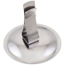 Stainless Steel Menu and Card Holder