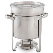 stainless steel soup station chafer 7 quart - Soup Warmer