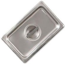 25 Gauge Stainless Steel Economy Flat Solid Cover Only