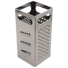 Stainless Steel Square Four Grating Surface Grater