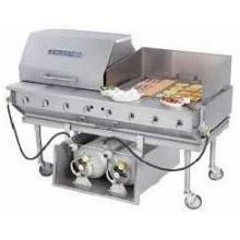 Ultimate Outdoor Radiant Gas Char Broiler 62 x 34 x 36 inch