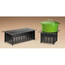 Rectangle Lattice Style Cook N Serve Grill 22 x 12 x 7 1/2 inch