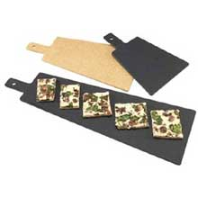 Black Tall Serving Board with Handle