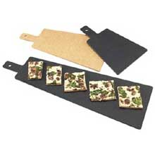 Natural Tall Serving Board with Handle