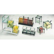 Squared Three Glass Jar Horizontal Frame
