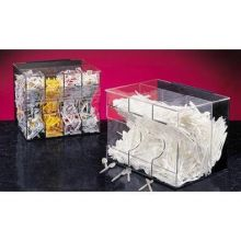 High Volume 4 Section Condiment Packet Dispenser 19 x 16 x 17 inch