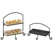 Small Rectangle Wrought Iron Tier Stand