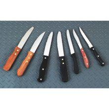 Jumbo Black Plastic Rounded Tip Steak Knife